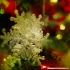 Real snowflake - Christmas Tree decoration - size: 128mm image