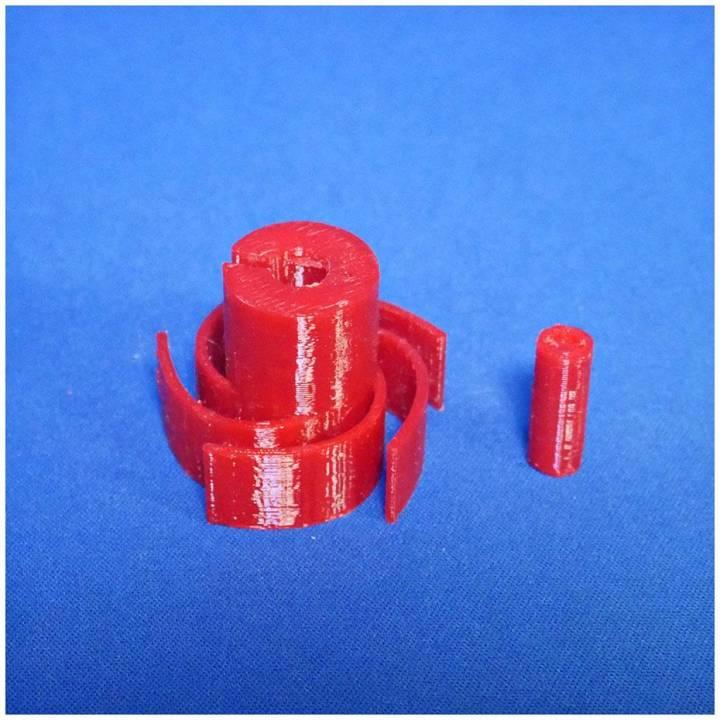 Holder for traditional E10 bulb