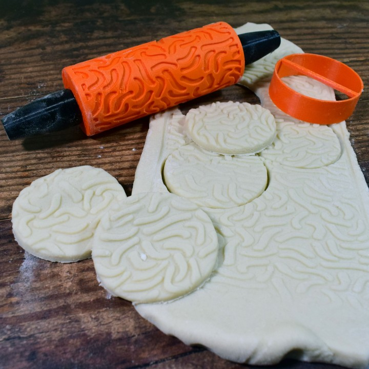 Cookie Pattern Roller Geometry Design 04