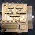 Folding Box Printer Calibration Cube print image
