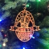 Set of Christmas tree ornaments: John 1:14 image