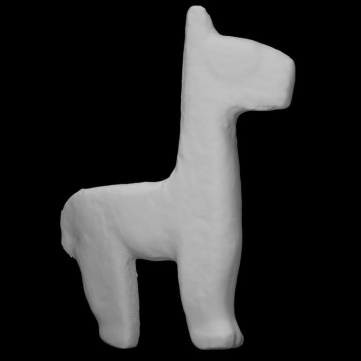 Camelid figurine