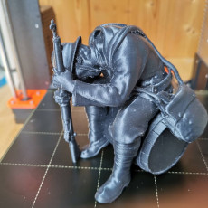 Picture of print of Crying soldier