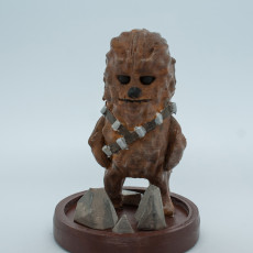 Picture of print of Mini Chewbacca - Star Wars