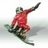 Snowboard Santa image