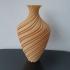 very groovy vase print image