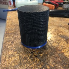 Partially Knurled 18650 Screw Container
