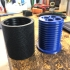 Partially Knurled 18650 Screw Container image