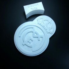 Picture of print of Escudo Real Madrid