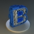 steampunk letter B image