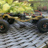 MyRCCar 1/10 MTC Chassis Updated. Customizable chassis for Monster Truck, Crawler or Scale RC Car print image