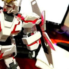 HGUC Unicorn Gundam Shield Holder Replacement