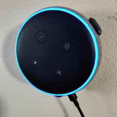 Picture of print of Echo Dot 3 Wall Mount V1