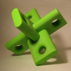 Picture of print of Locking Puzzle