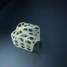 Picture of print of Twisted cube
