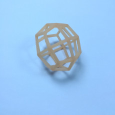 Picture of print of Dual graph wireframe