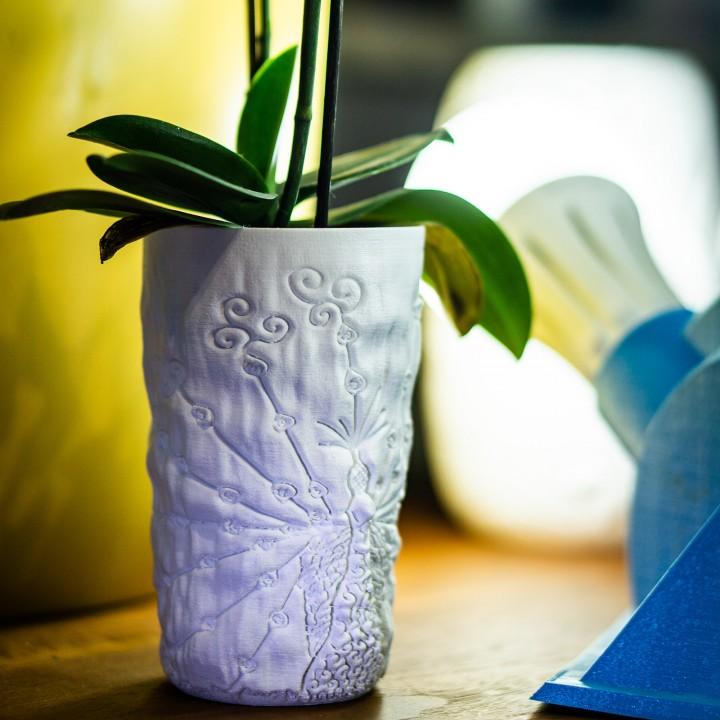 Peacock Mug / Vase / Lampshade