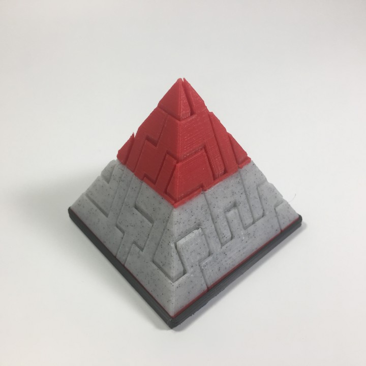 image regarding Printable Pyramid named Pyramid Puzzle