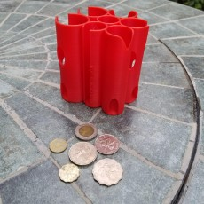Coin holder for Hong Kong coins - Chow