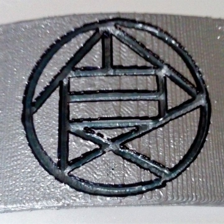 Forehead Protector with the Akimichi clan symbol