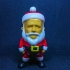 Mini Santa Claus print image