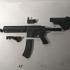 HK416 (M416) 1/4 Scale print image