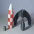 Multimaterial Tintin's Rocket image