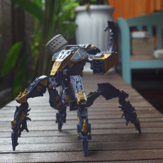 Picture of print of Corruptor from Horizon Zero Dawn
