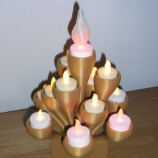 Picture of print of Christmas Tree Candelabra