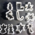 Christmas cookies cutter image