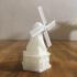 wind mill print image