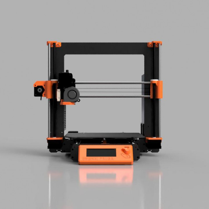 photograph regarding Prusa Printable Parts named 3D Printable Primary Prusa i3 MK3 3D printer via Michal Fanta