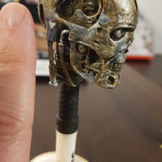 Picture of print of Terminator T800 Bust This print has been uploaded by mouradOo ned