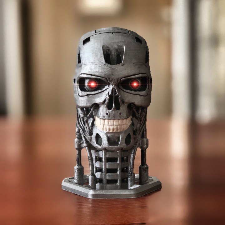 Terminator T800 Bust