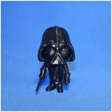 Picture of print of DARTH VADER LowpolyPOP - by Objoy Creation