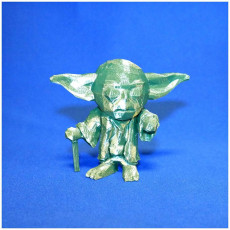 Picture of print of YODA LowpolyPOP - by Objoy Creation