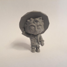 Picture of print of MONKEY D LUFFY LowpolyPOP - by Objoy Creation