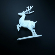 Picture of print of SANTA CLAUS'S reindeer christmas - by Objoy Creation