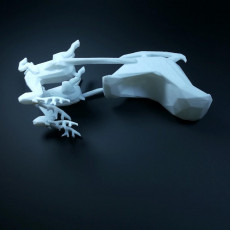 Picture of print of SANTA'S SLEIGH lowpoly - by Objoy Creation