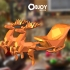SANTA'S SLEIGH lowpoly - by Objoy Creation image