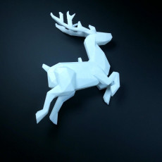 Picture of print of SANTA CLAUS'S REINDEER Lowpoly - by Objoy Creation