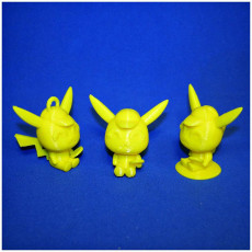 Picture of print of Detective Pikachu Figurine & Keychain - by Objoy Creation