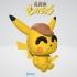 Detective Pikachu Figurine & Keychain - by Objoy Creation image