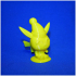 Christmas Pikachu - by Objoy Creation print image