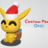 Christmas Pikachu - by Objoy Creation image