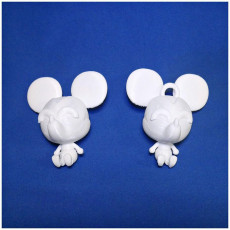 Picture of print of Mickey Mouse Figure & Keychain - by Objoy Creation