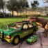 1:18 JURASSIC PARK CAR FOR 3.75 INCH FIGURE NO SUPPORT print image