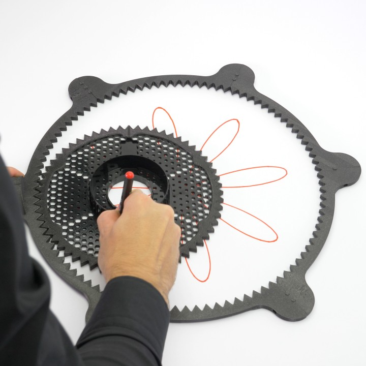SPIROGRAPH - PRUSAMENT SPOOL - reuse idea