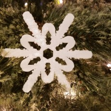 Snowflake Ornament #5