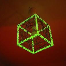 MPF - Meshcube Lamp / Netzwurfel Lampe